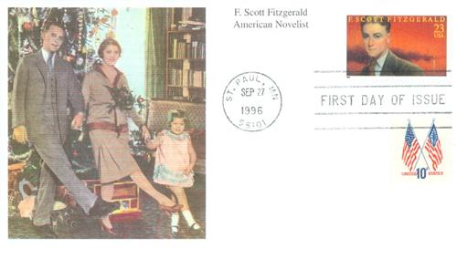 U.S. #3104 FDC – Fitzgerald First Day Cover picturing him and his family.