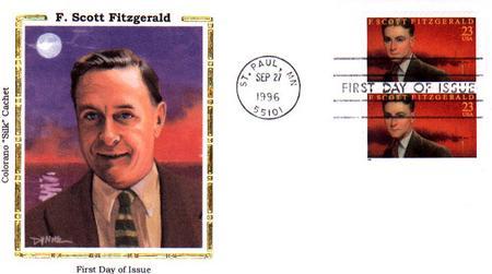 U.S. #3104 FDC – Fitzgerald Silk First Day Cover.
