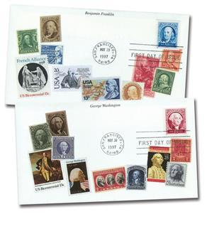 1997 50¢ Franklin & Washington
