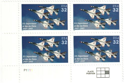 1997 32c US Department of the Air Force