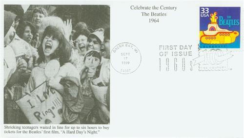1999 33c the Beatles