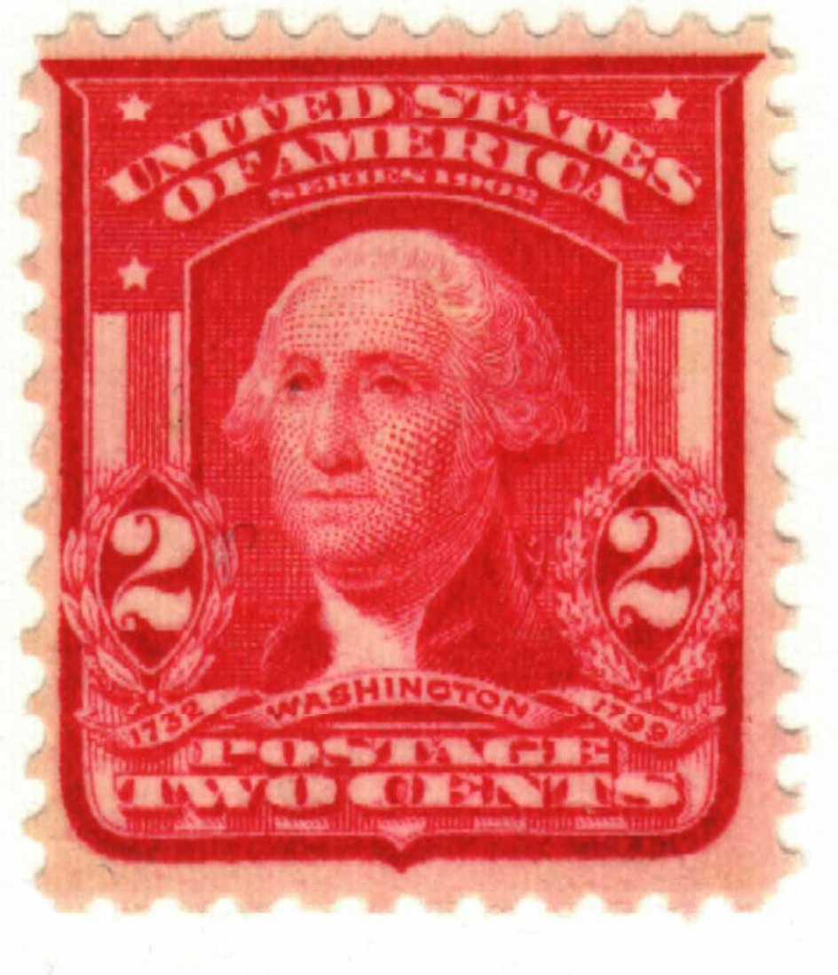 1903 2c Washington Carmine For Sale At Mystic Stamp Company