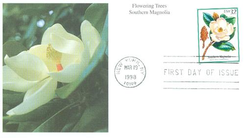 1998 32c Magnolia Tree For Sale At Mystic Stamp Company