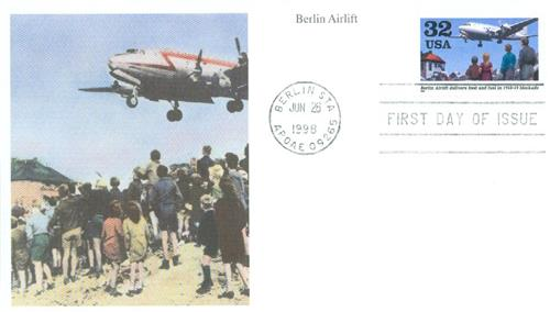 1998 32c Berlin Airlift