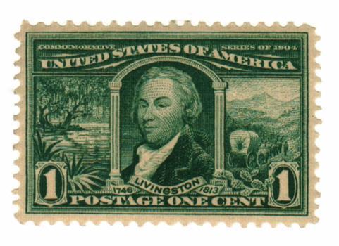 1904 1c Robert R. Livingston