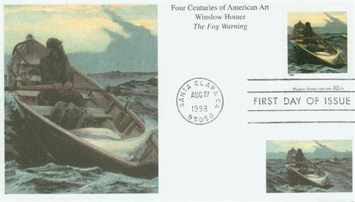 U.S. #3236j FDC – 1998 Homer First Day Cover.