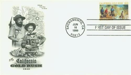 1999 33c California Gold Rush