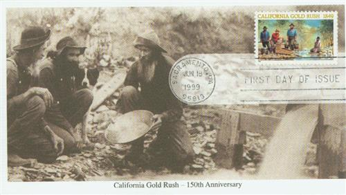 1999 33c California Gold Rush