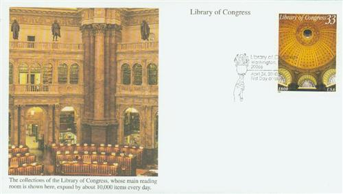 2000 33c Library of Congress