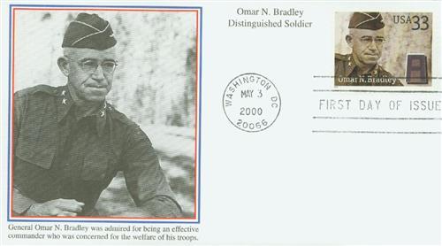 2000 33c Omar N. Bradley