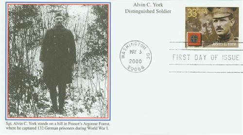 2000 33c Alvin C. York