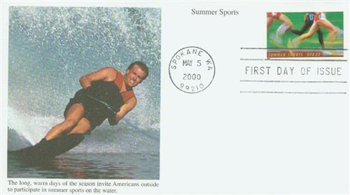 2000 33c Summer Sports