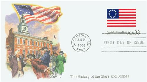 2000 Hopkinson Flag Fleetwood First Day Cover