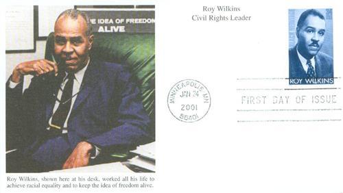 2001 34c Black Heritage: Roy Wilkins