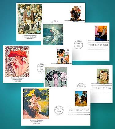 2001 34c American Illustrators