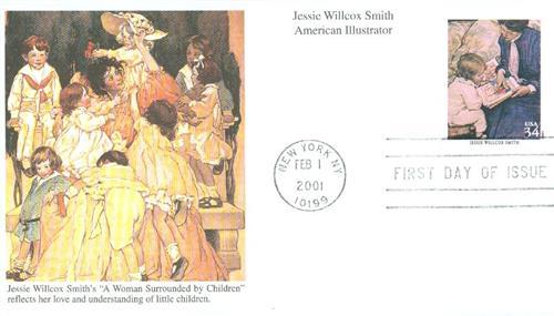 2001 34c American Illustrator J.W. Smith
