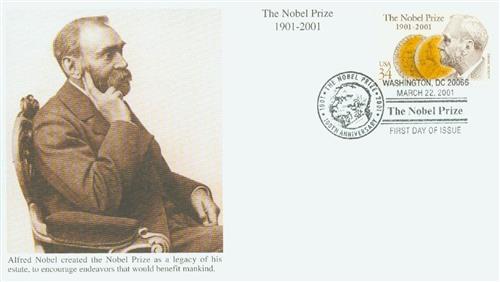2001 34c The Nobel Prize