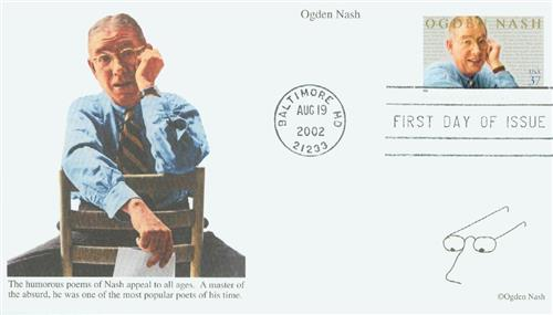 Nash Mystic First Day Cover