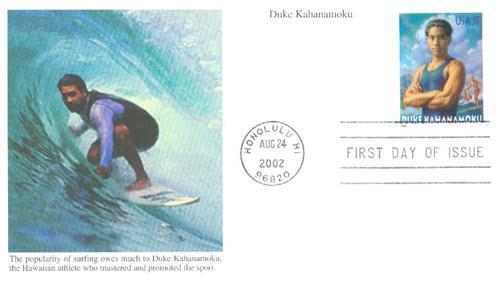 2002 37c Duke Kahanamoku