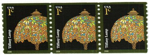 2008 1c Tiffany Lamp, coil w/a