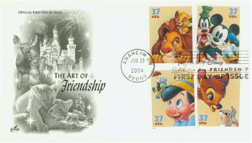 2004 Art of Disney Classic First Day Cover