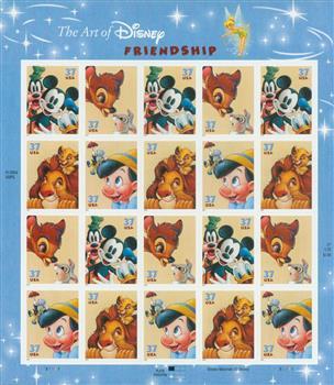 2004 Art of Disney: Friendship sheet