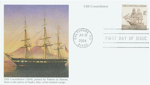 2004 37c USS Constellation