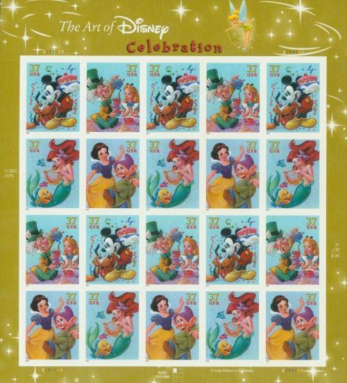 2005 The Art of Disney: Celebration sheet