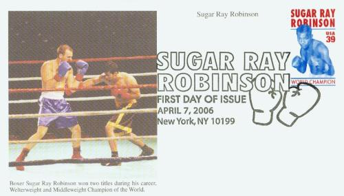 2006 39c Sugar Ray Robinson