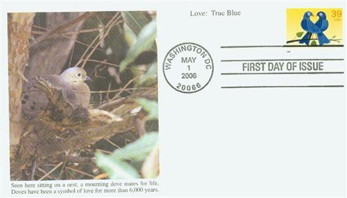 2006 39c Love Series: Love Birds