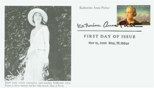 2006 39c Literary Art: Katherine Anne Porter