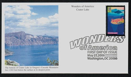 2006 39c Crater Lake, Deepest Lake