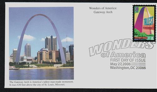 2006 39c Gateway Arch, Tallest Monument