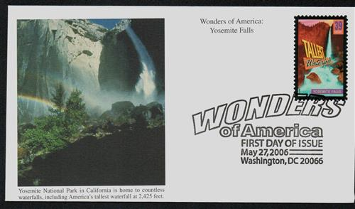 2006 39c Yosemite Falls, Tallest Falls