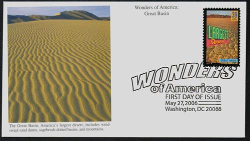 2006 39c Great Basin, Largest Desert