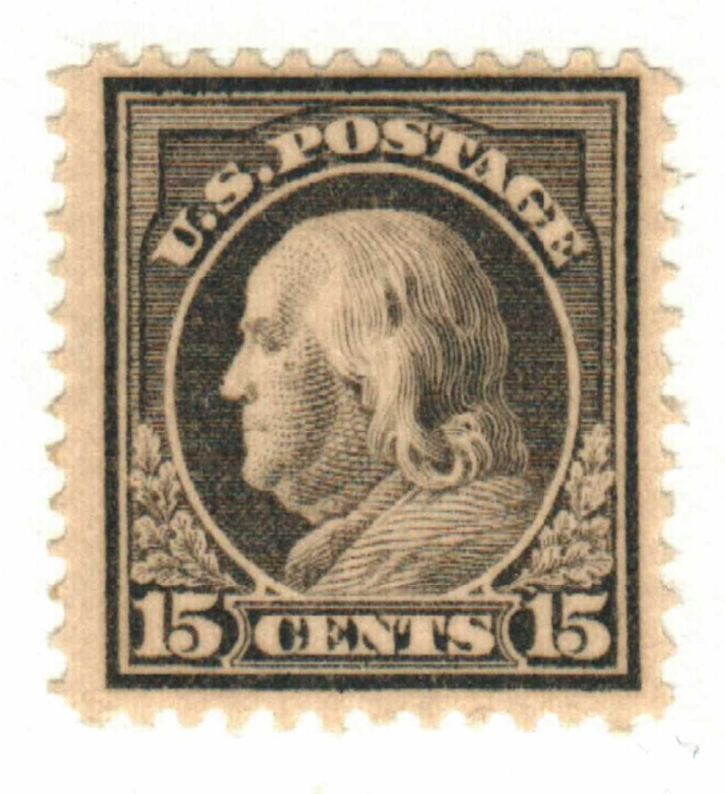 c franklin sl wmrk gray for at mystic stamp company