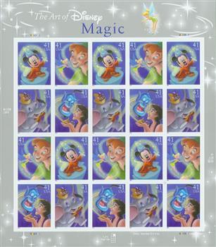 2007 The Art of Disney: Magic sheet
