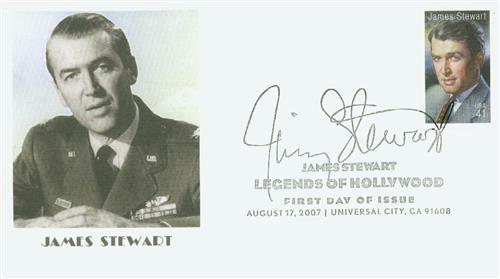 2007 41c Legends of Hollywood: James Stewart