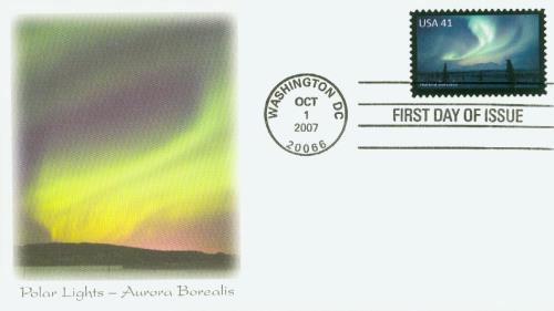 2007 41c Polar Lights: Aurora Borealis for sale at Mystic