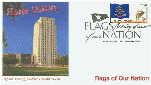 2010 44c Flags of Our Nation, North Dakota