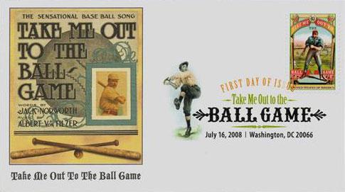 2008 42c Take me out to the Ballgame