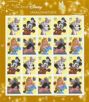 2008 The Art of Disney: Imagination sheet