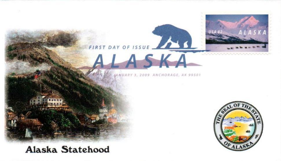 2009 42c Alaska Statehood