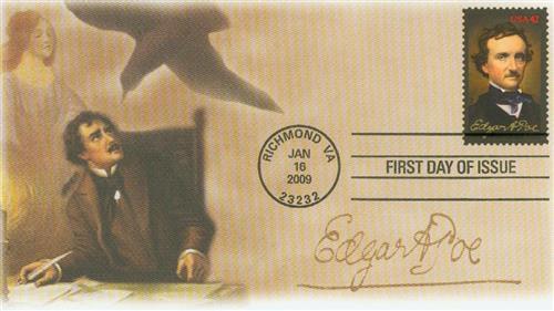 2009 42c Edgar Allan Poe