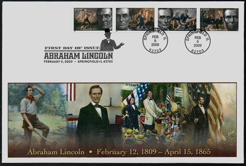 2009 42c Abraham Lincoln