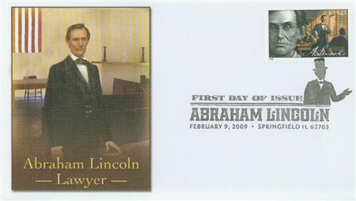 2009 42c Abraham Lincoln - Lawyer