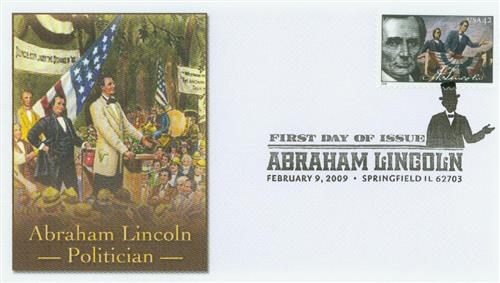 2009 42c Abraham Lincoln - Politician