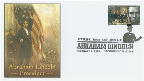 2009 42c Abraham Lincoln - President