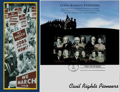 2009 42c Civil Rights Pioneers