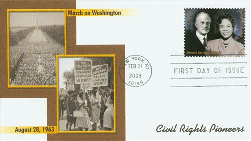 2009 42c Civil Rights-Villard/Bates